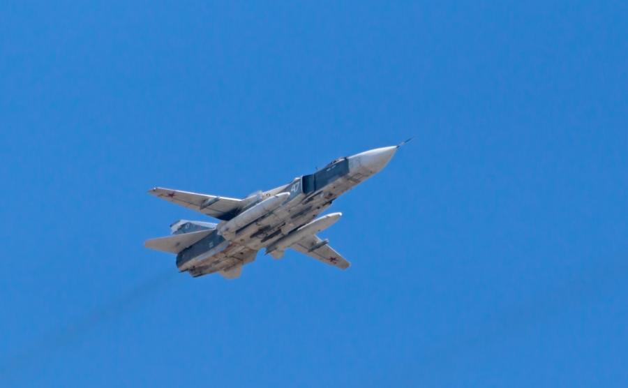Rosyjski myśliwiec Su-24