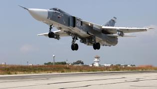 Rosyjski Su-24 w Syrii