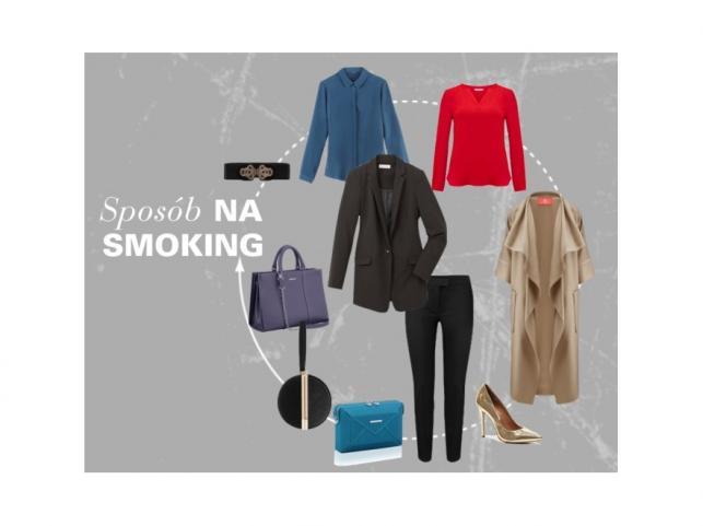 STYLIZACJE ze smokingiem