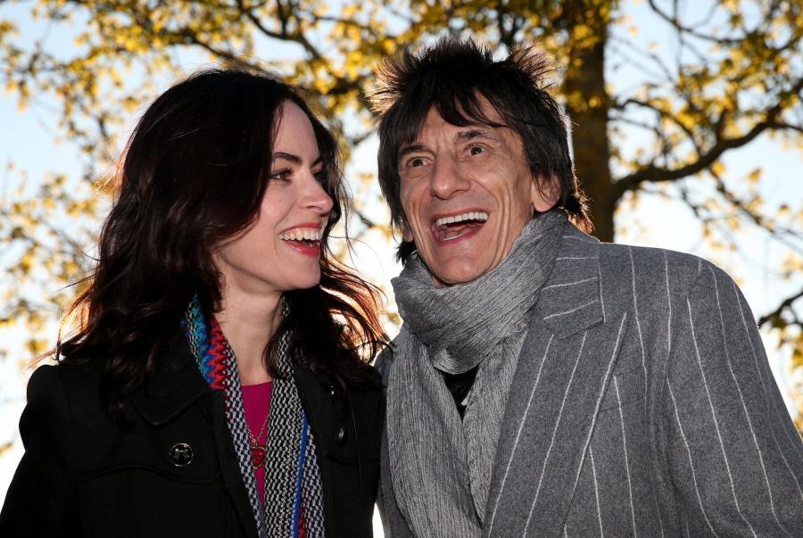 Ronnie Wood i Sally Humphreys wkrótce zostaną rodzicami