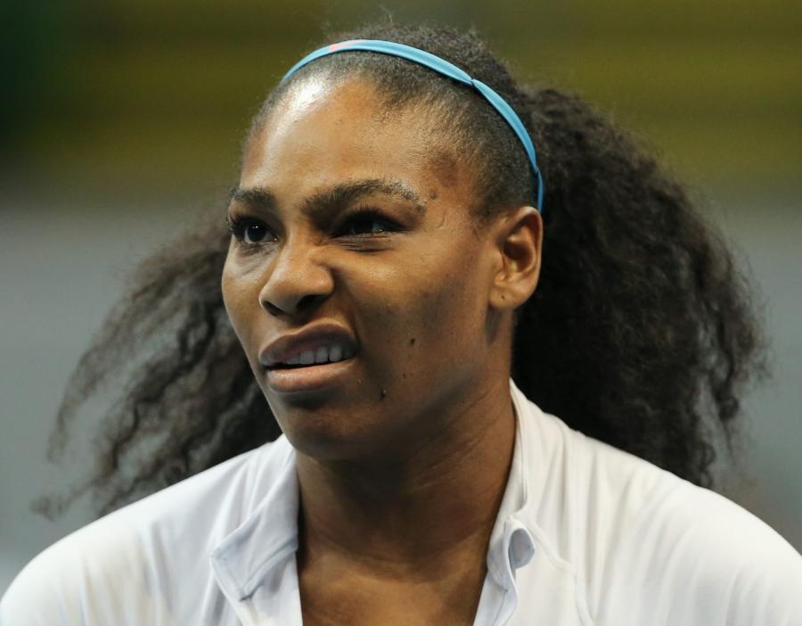 Serena Williams w ciąży? Raczej jeszcze nie