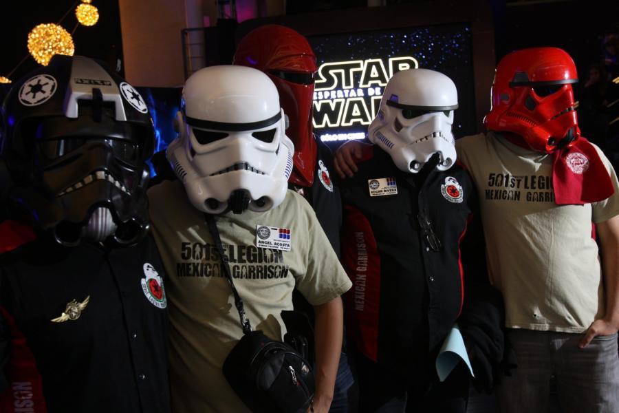 Meksykańscy fani też zwarci i gotowi na premierę