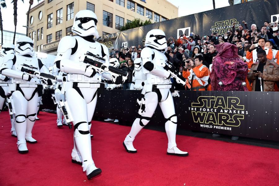 """Premiera """"Gwiezdnych wojen"""" w Los Angeles"""
