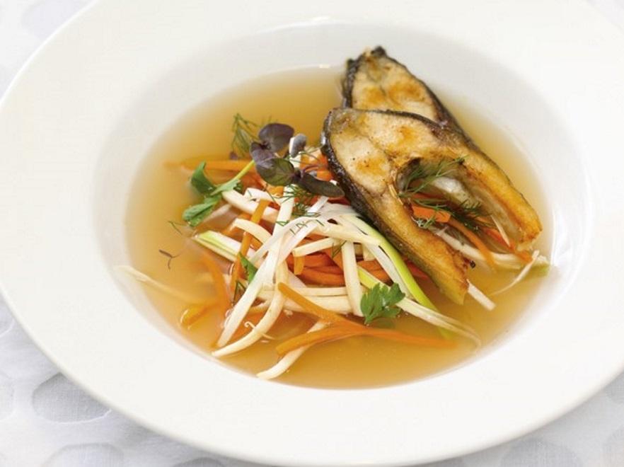 Zupa rybna z karpiem
