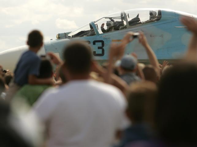 Białoruscy piloci przed swoim ostatnim startem