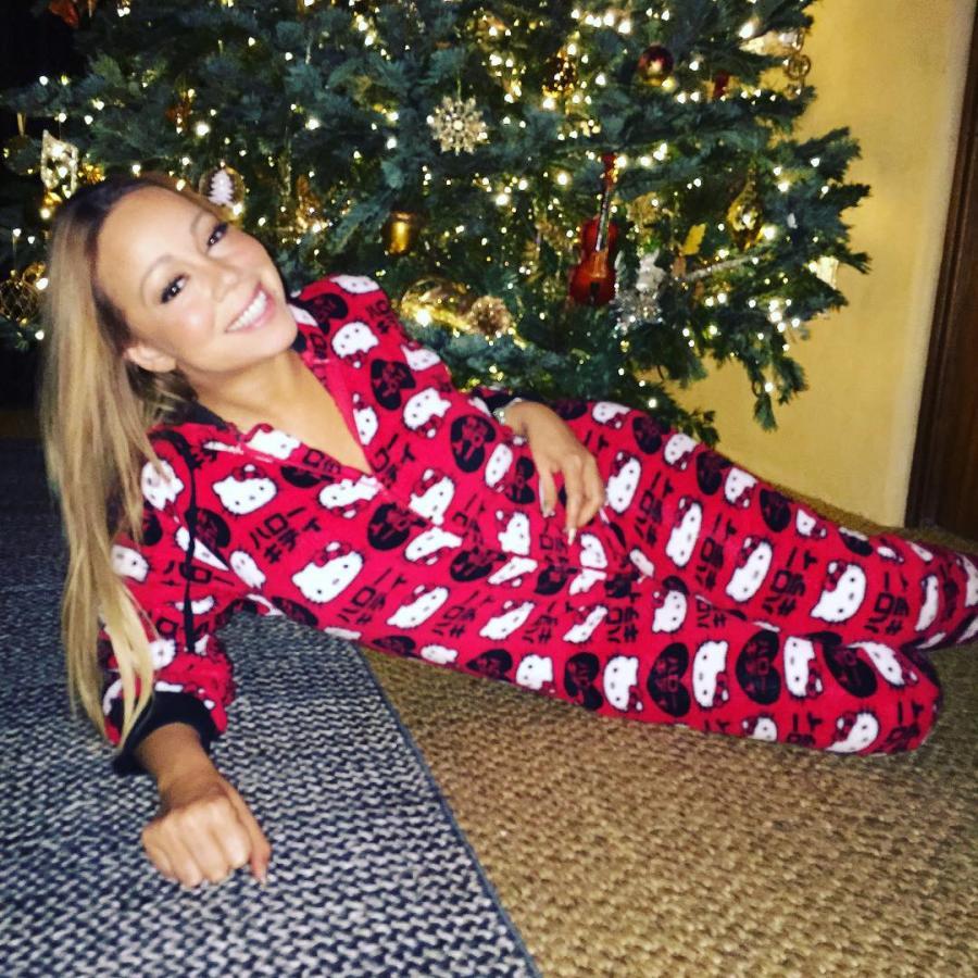 Mariah Carey pochwaliła się świątecznymi fotkami