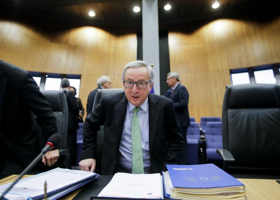 Jean Claude Juncker, szef Komisji Euopejskiej