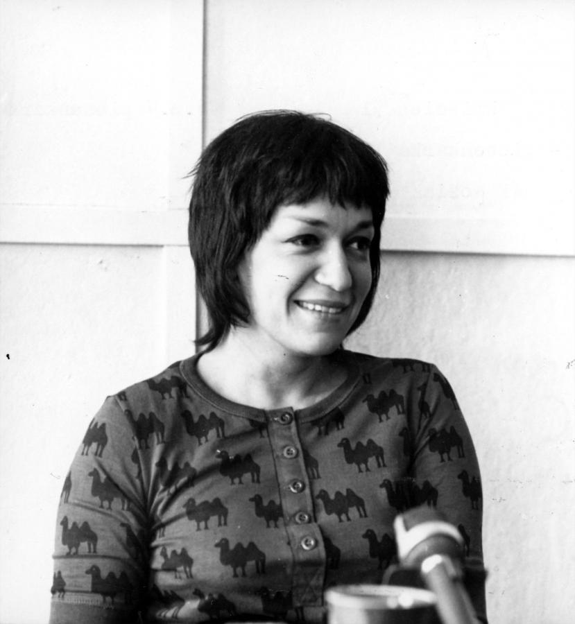 Ewa Demarczyk w roku 1971