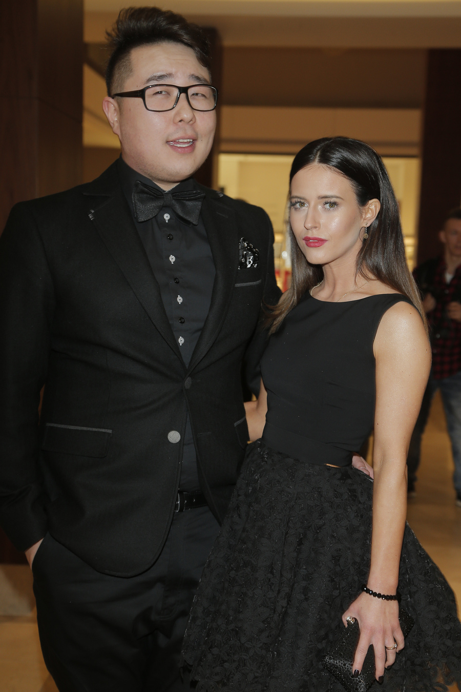 Bilguun Ariunbaatar z partnerką