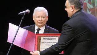 """Jarosław Kaczyński Człowiekiem Roku """"Gazety Polskiej"""""""