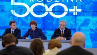 """Konferencja prasowa nt. programu """"Rodzina 500 plus"""""""