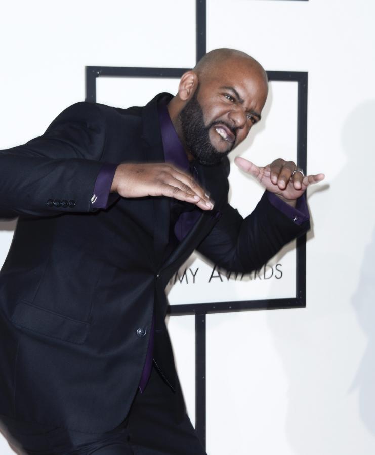 Najzabawniejsze zdjęcia z Grammy 2016: Aaron Lindsey