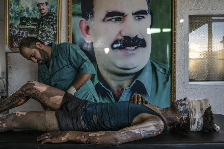 Opatrywany bojownik ISIS