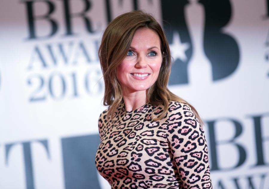 Geri Horner (wcześniej Halliwell) na gali Brit Awards 2016
