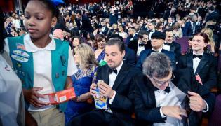 Chciał, czy nie Leonardo DiCaprio też kupił ciasteczka