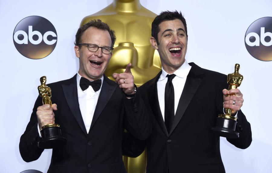 """Oscary 2016 – najlepszy scenariusz oryginalny: Tom McCarthy, Josh Singer, """"Spotlight"""""""