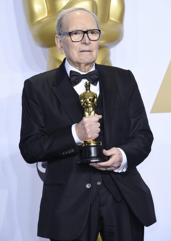 """Oscary 2016 – najlepsza muzyka: """"Nienawistna ósemka"""", Ennio Morricone"""