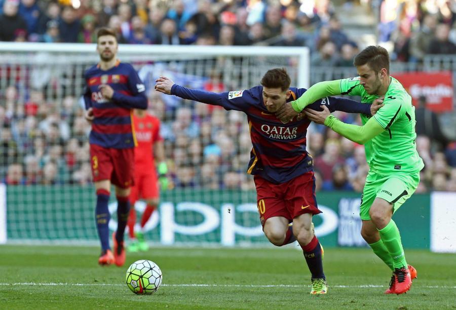 Lionel Messi i Alvaro Medran