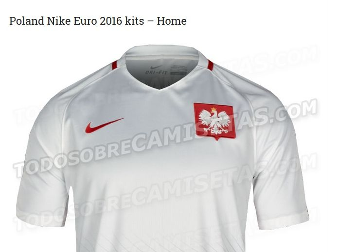 Koszulka reprezentacji Polski (biała)