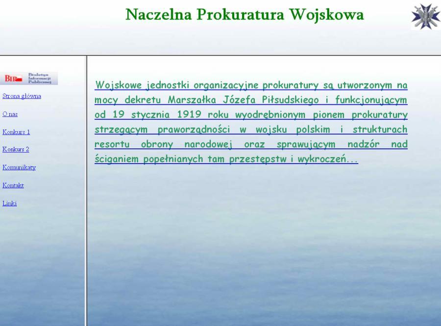 Wybierz najgorszą stronę w polskim Internecie
