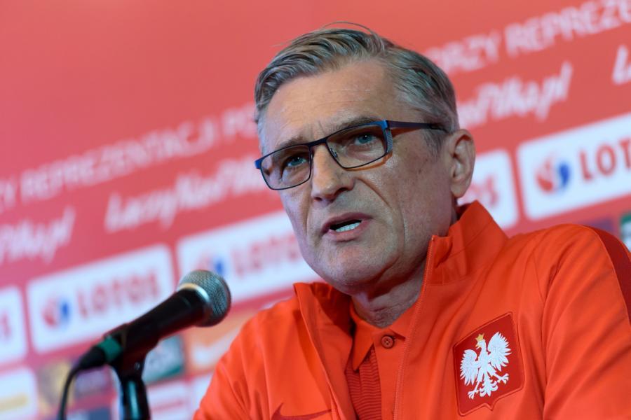 Trener piłkaskiej reprezentacji Polski Adam Nawałka