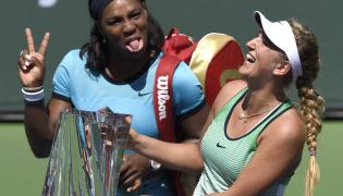 Wiktoria Azarenka i Serena Williams