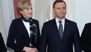 Prezydent Andrzej Duda z żoną