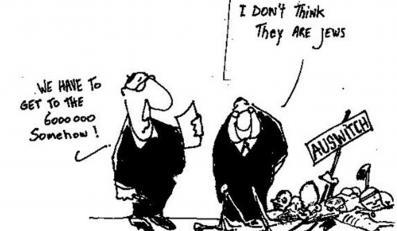Pod sąd za antysemicki rysunek