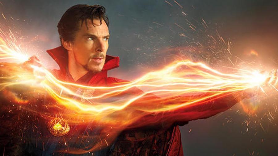 Doktor Strange staje się potężnym czarodziejem...
