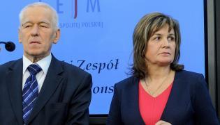 Kornel Morawiecki i Małgorzata Zwiercan