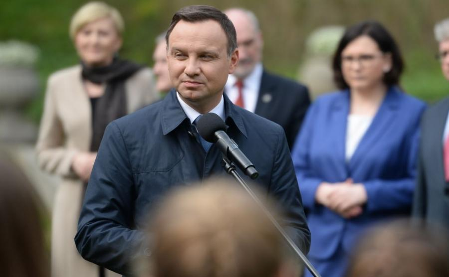 Andrzej Duda odpowie na list marszałka