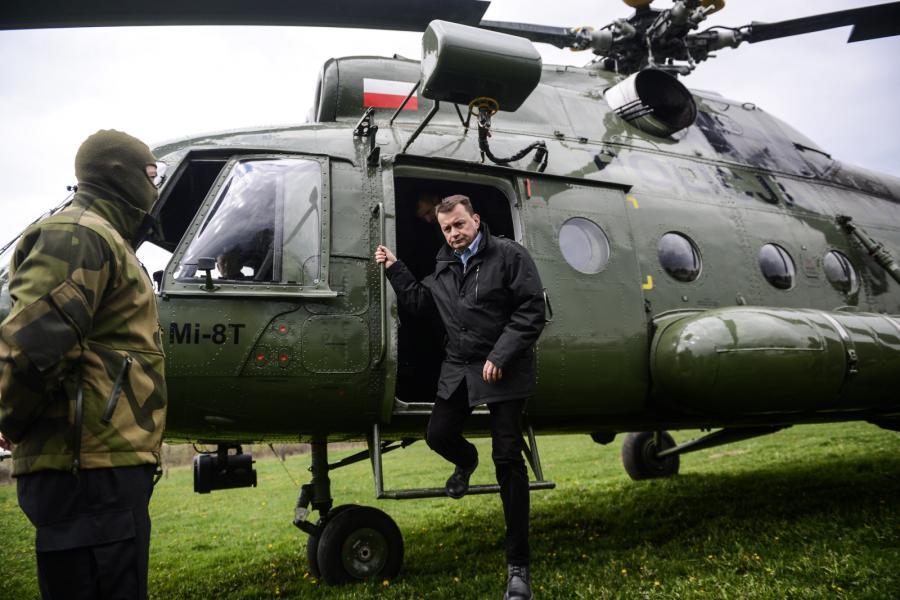 Ćwiczenia funkcjonariuszy Biura Operacji Antyterrorystycznych KGP, sprawdzające stan przygotowań antyterrorystów do szczytu NATO i Światowych Dni Młodzieży