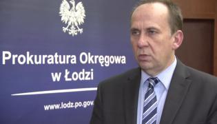 Rzecznik Prokuratury Okręgowej w Łodzi Krzysztof Kopania