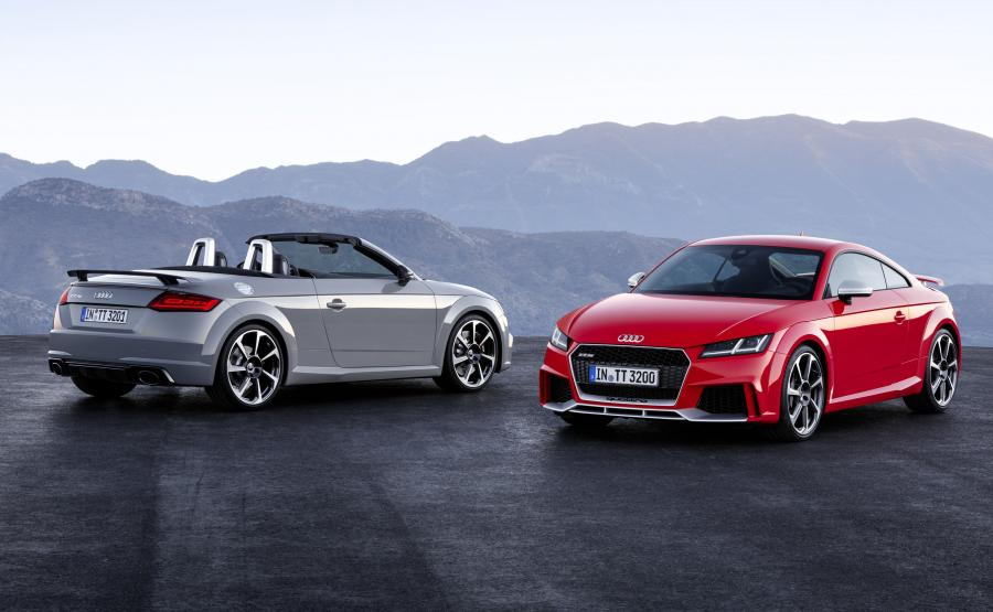 Audi TT RS roadster i coupe