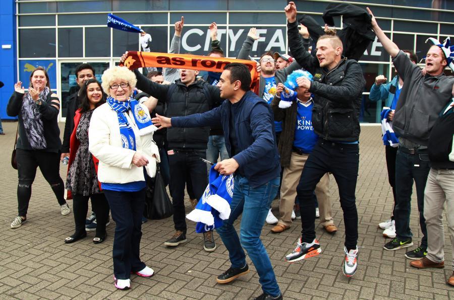 Kibice Leicester City