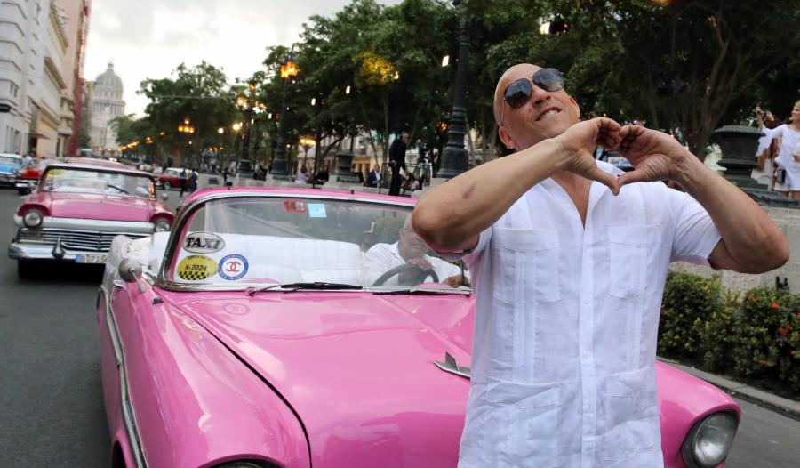 Vin Diesel zakochany w Kubie: To jest raj!