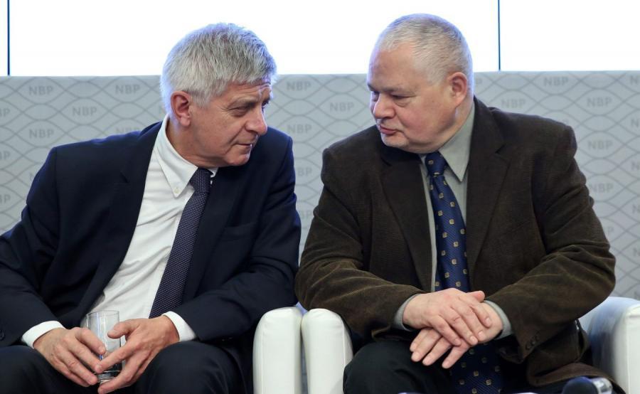 Marek Belka i Adam Glapiński