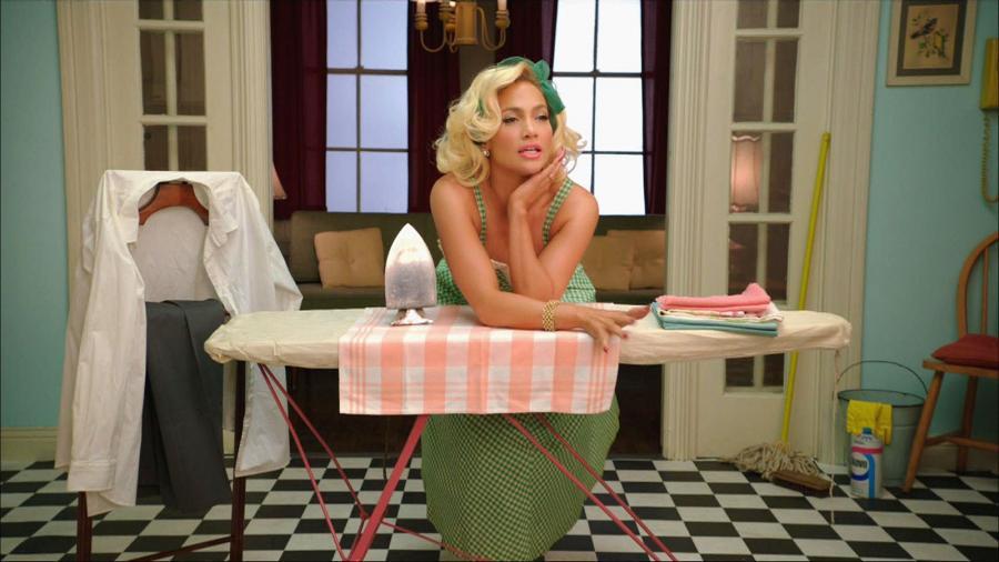 Jennifer Lopez sekretarką i gospodynią domową w klipie do \