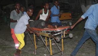 Atak terrorystów na hotel w Mogadiszu