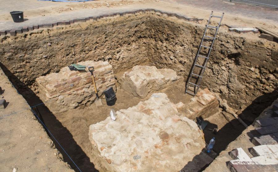 Prace archeologiczne w Poznaniu