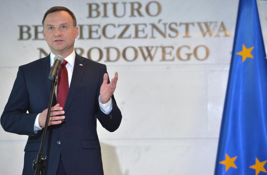 Duda na konferencji w sprawie NATO