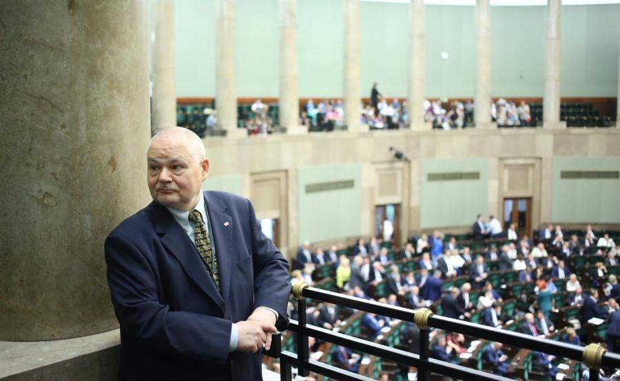 Adam Glapiński w Sejmie