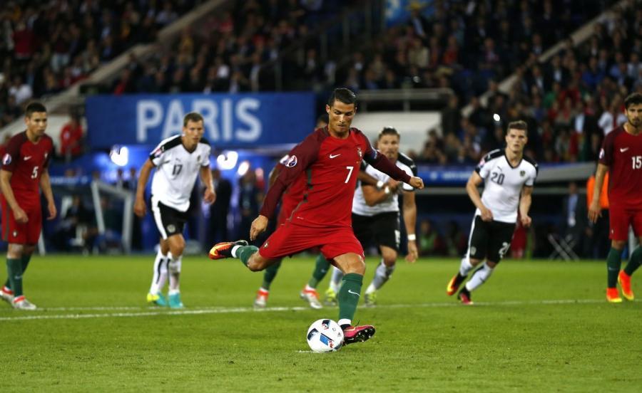 Cristiano Ronaldo zmarnował rzut karny