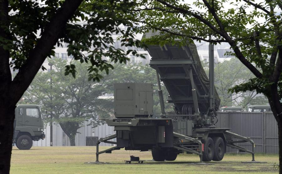 System przechwytywania rakiet Patriot ustawiony w Tokio