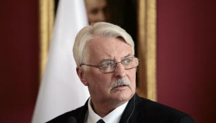 Szef MSZ Witold Waszczykowski