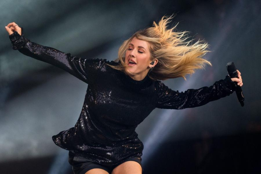 Ellie Goulding na Glastonbury 2016