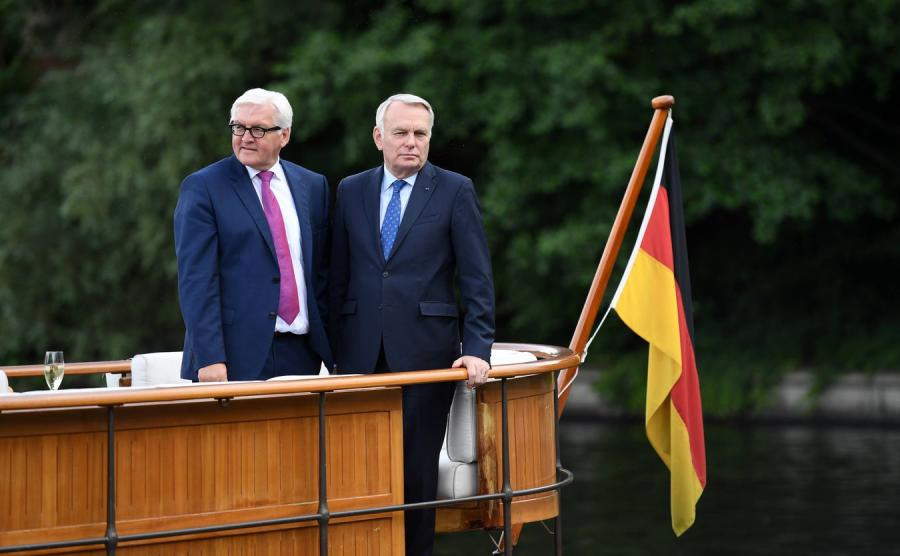 Frank-Walter Steinmeier i Jean-Marc Ayrault