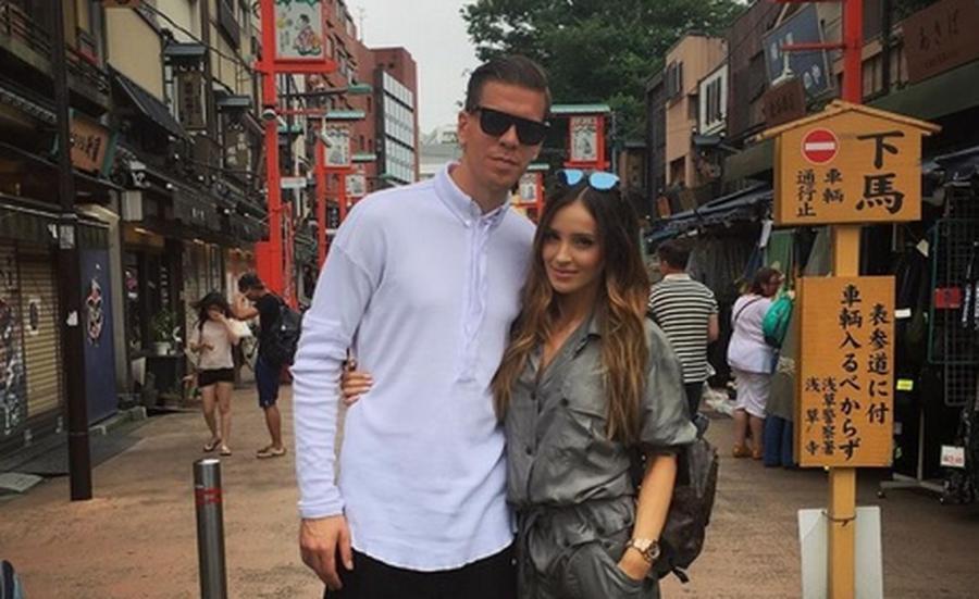 Marina Łuczenko i Wojciech Szczęsny w Japonii