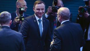 Andrzej Duda na rozpoczynającym się szczycie NATO w Warszawie