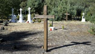 Cmentarz ofiar UPA we wsi Ostrówki
